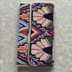 Anthropologie Bags - Anthropologie beaded clutch